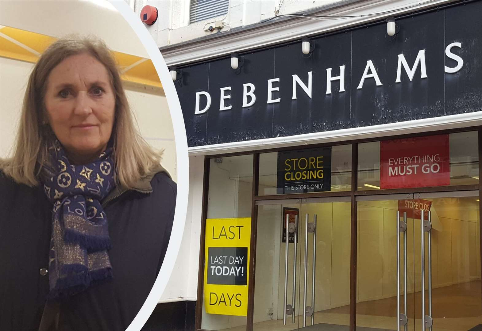 Former staff 'heartbroken' as Debenhams closes
