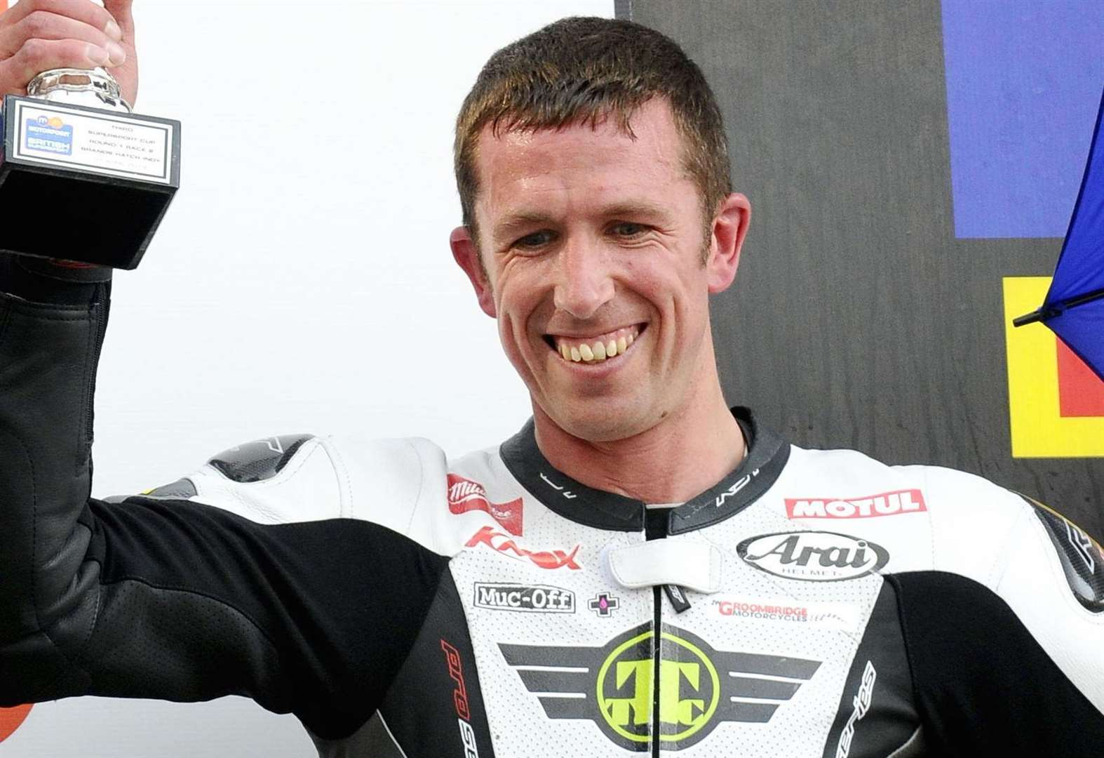 Thousands raised for injured superbike star