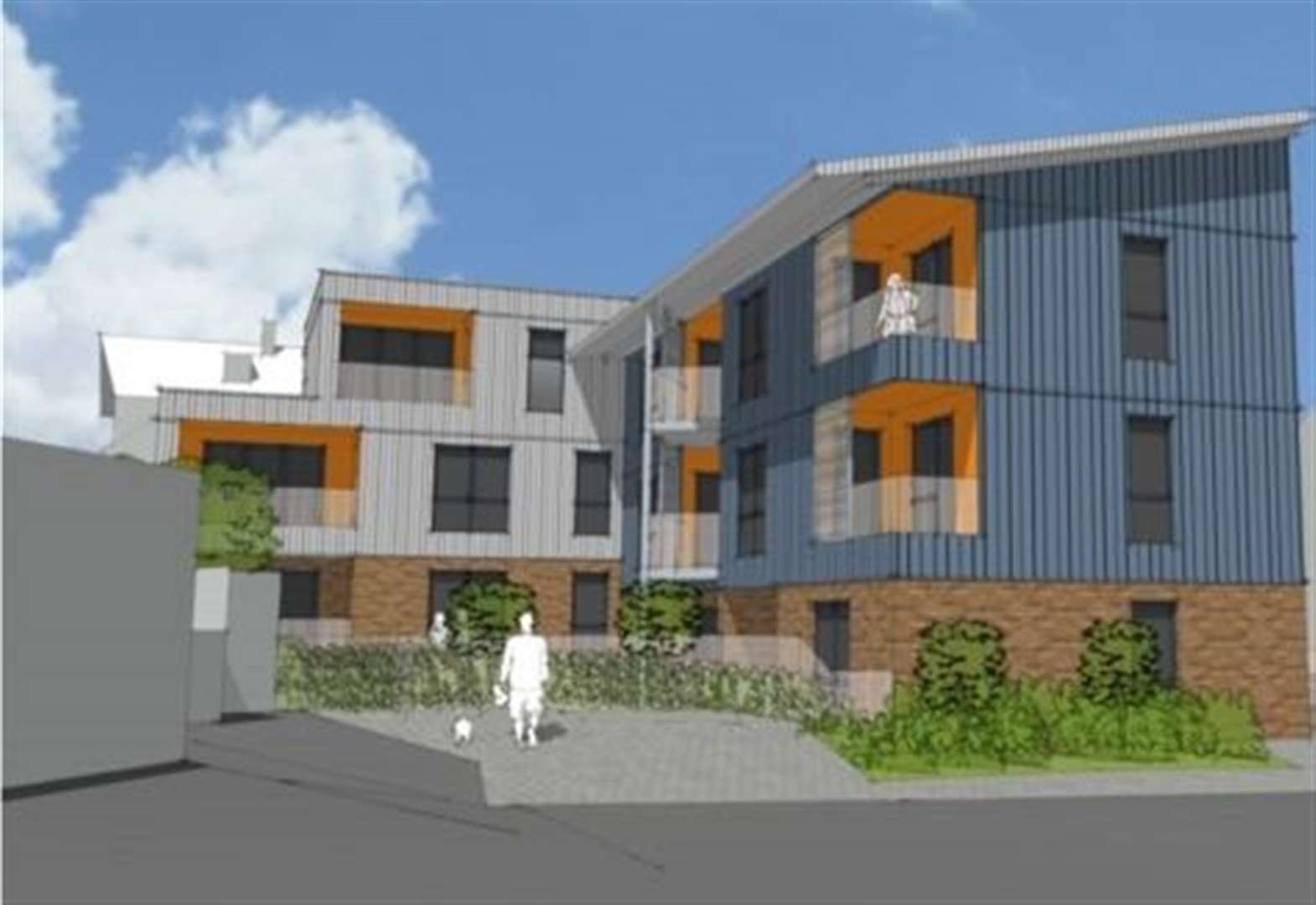 'Ugly' flats plan ridiculed