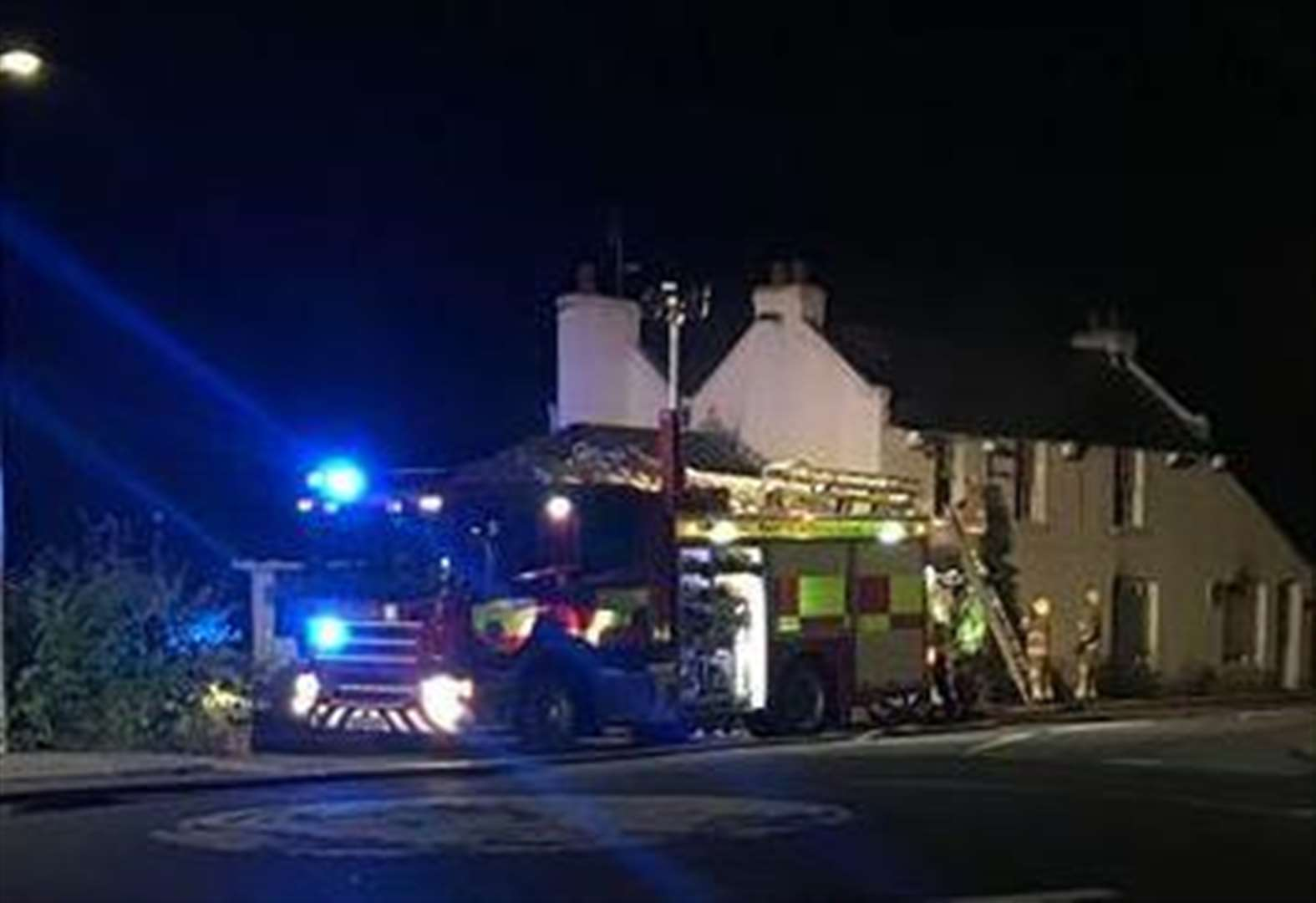 Former pub gutted in 'arson attack'