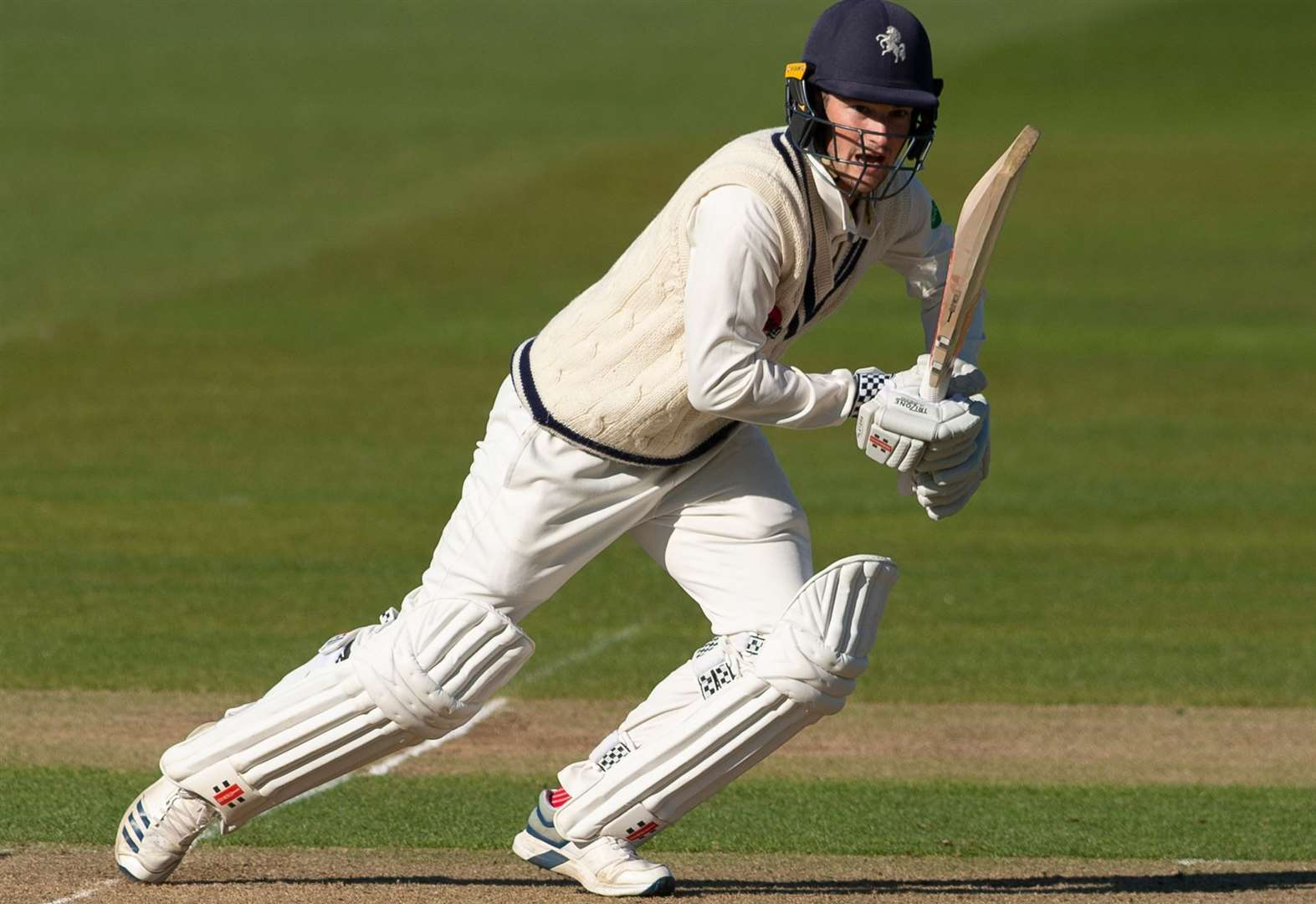 Kent defiant in defeat