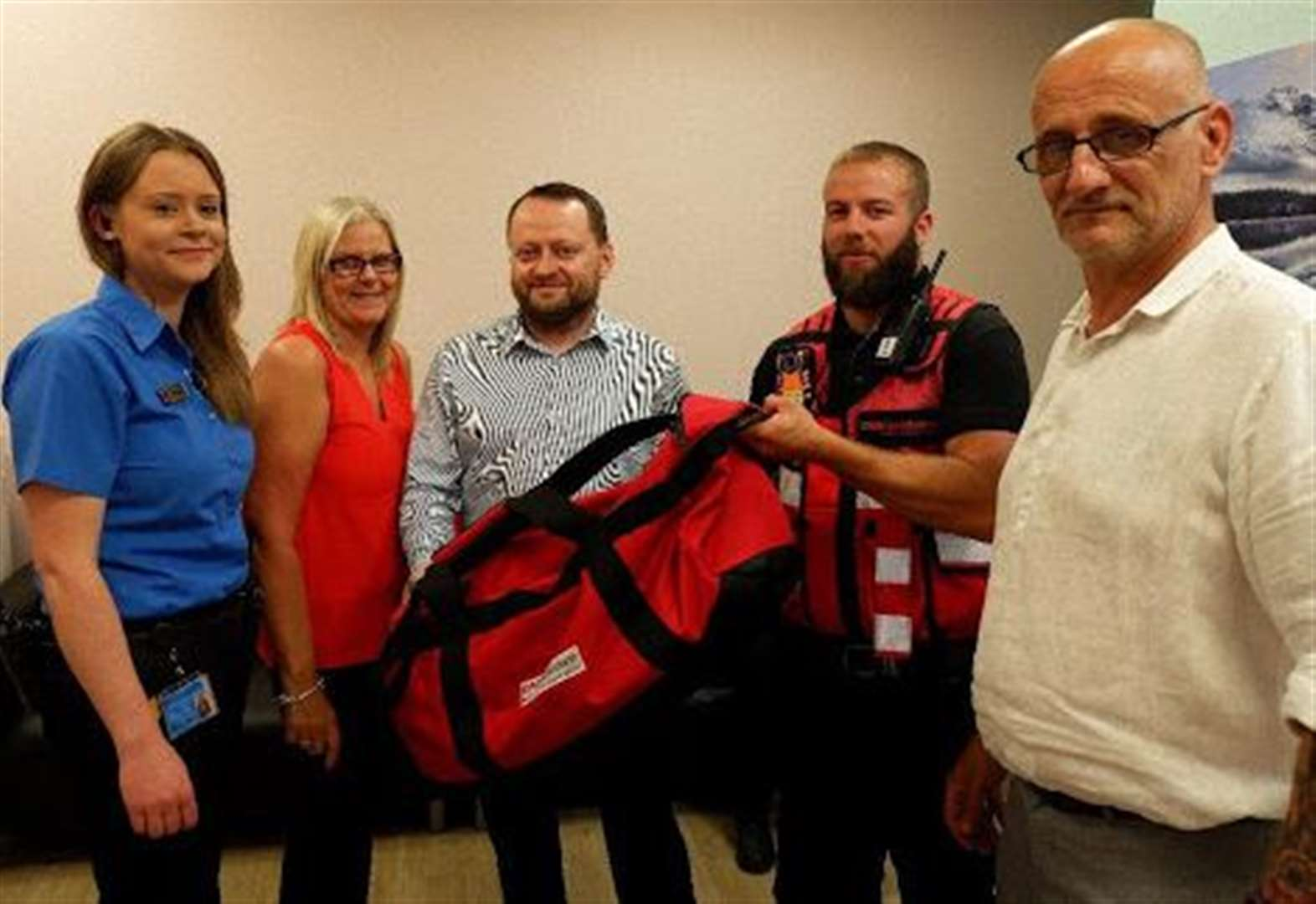 Town gets trauma packs for use in major incidents
