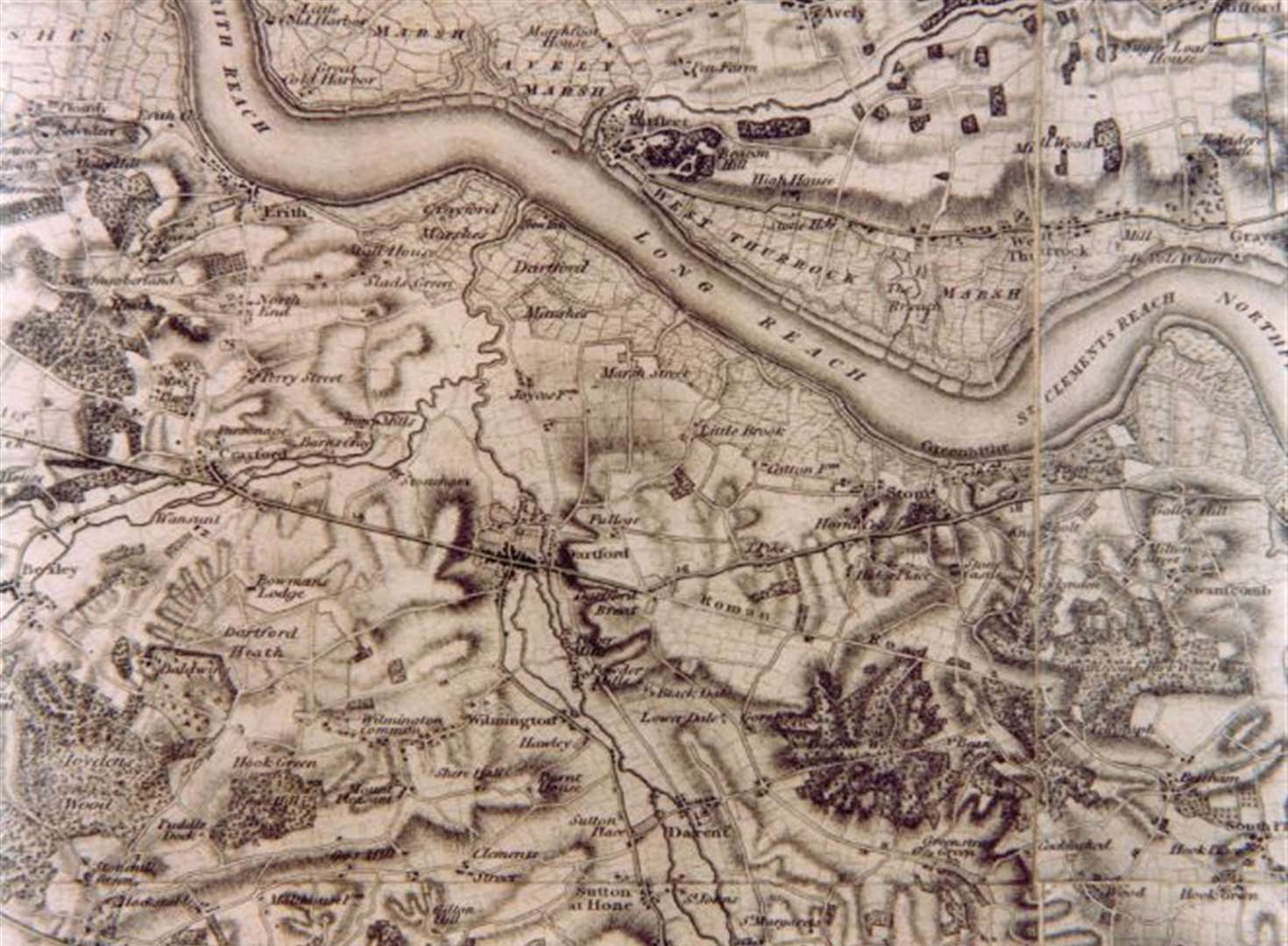Why Kent was the subject of the first Ordnance Survey map