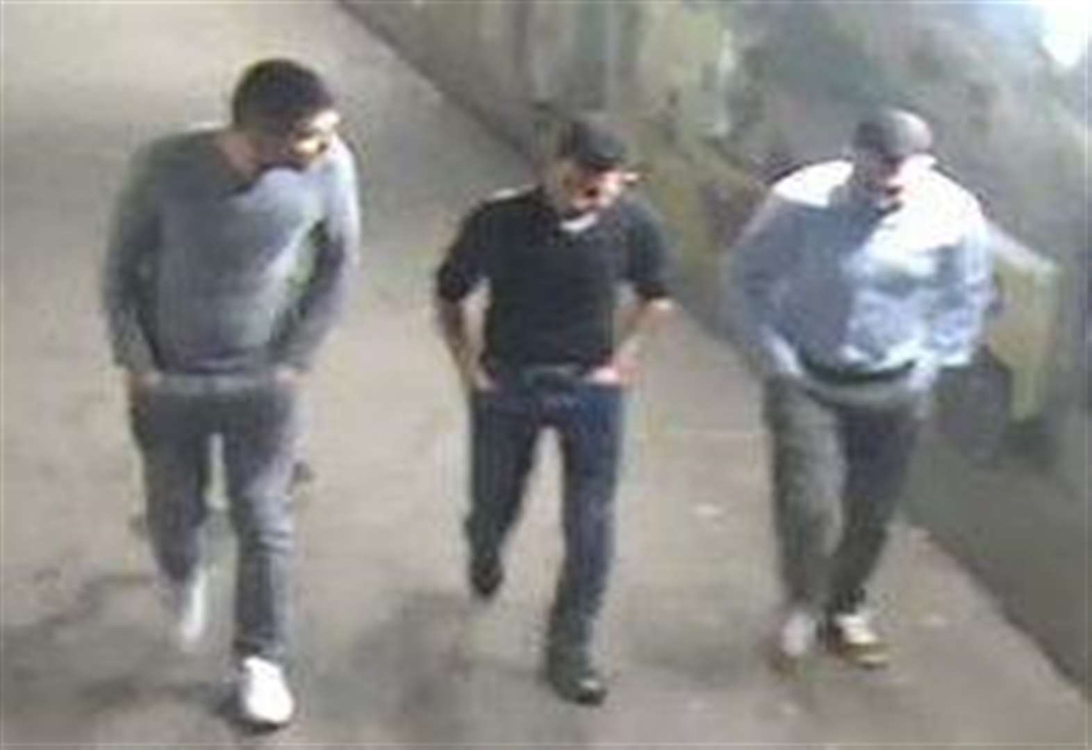 VIDEO: Three jailed for car park rape