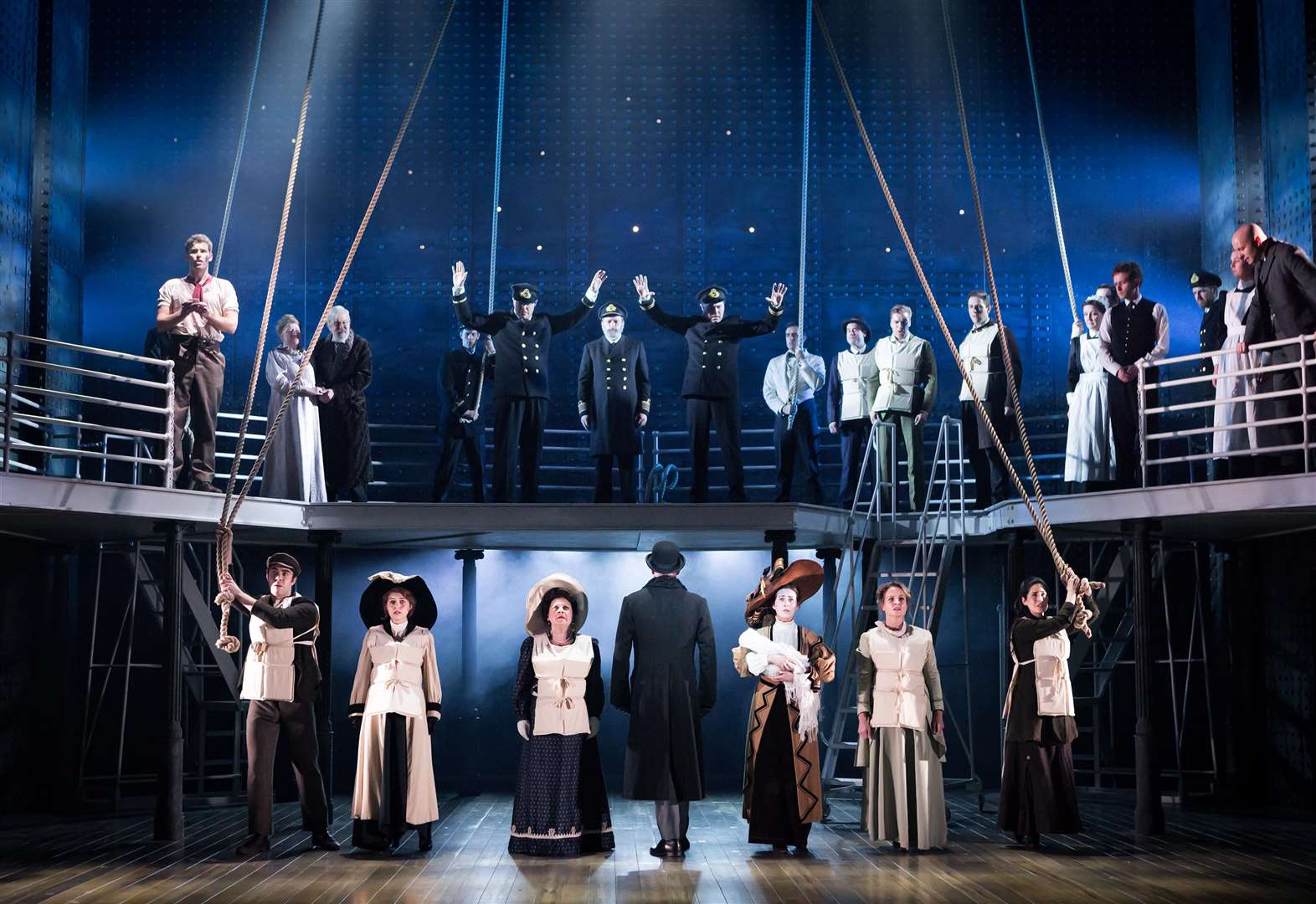 Review: Titanic the Musical in Churchill Theatre, Bromley