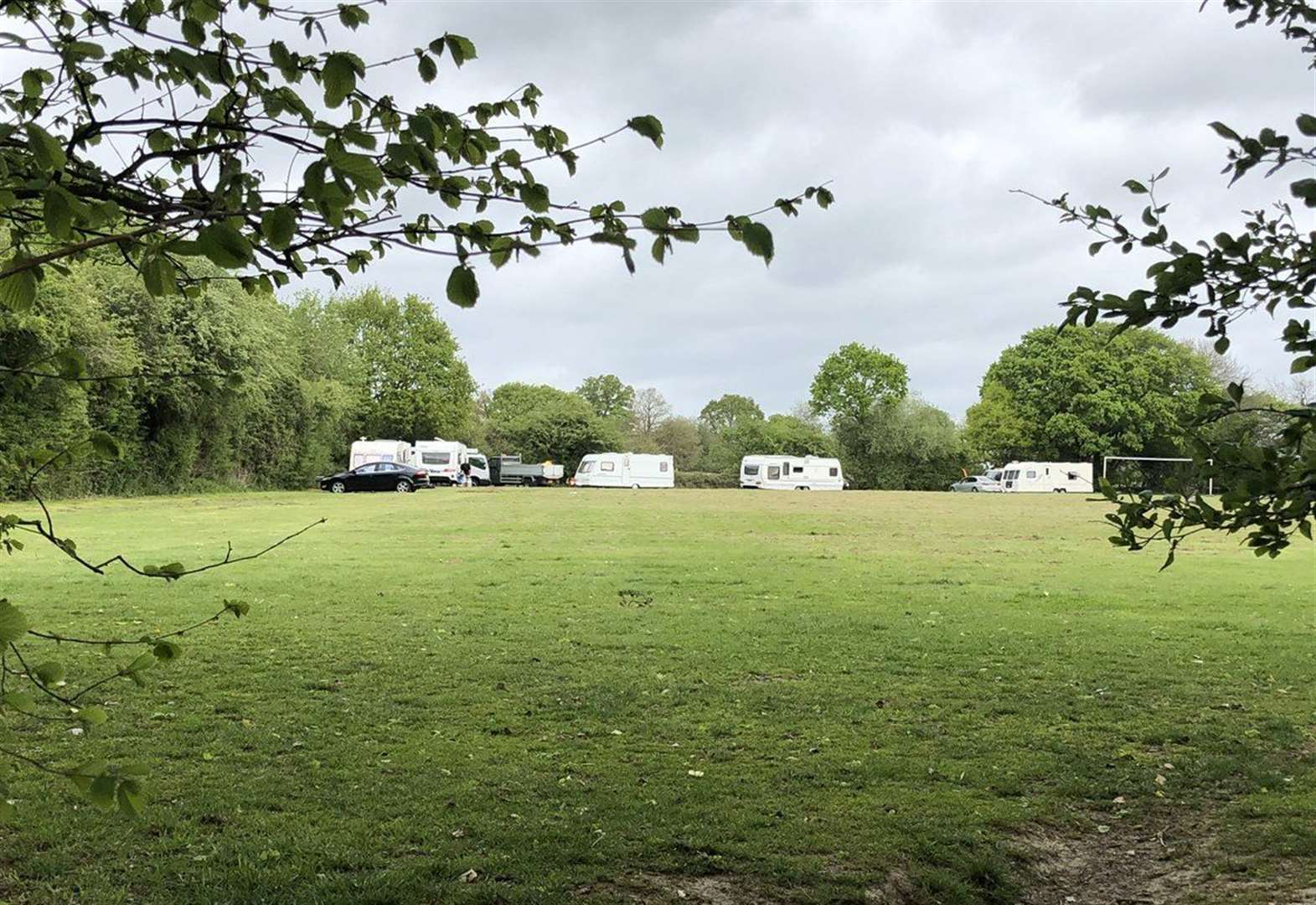 School to recover its football pitch from travellers