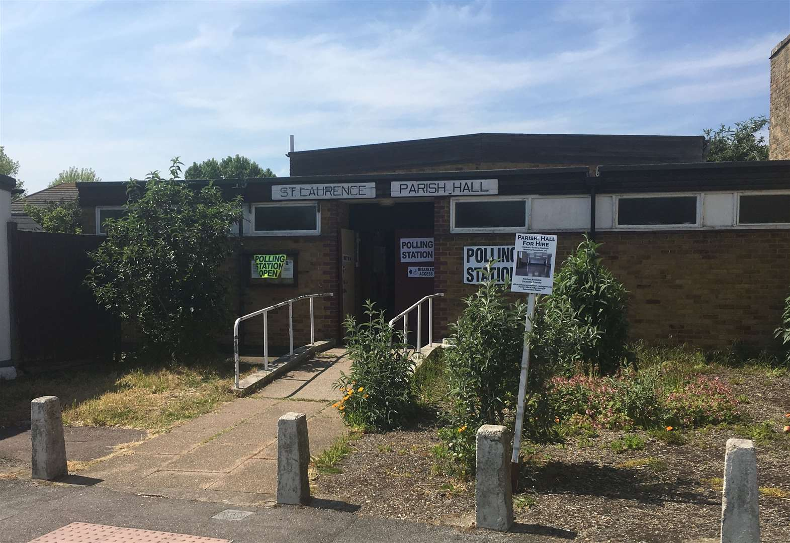 Police called to polling station