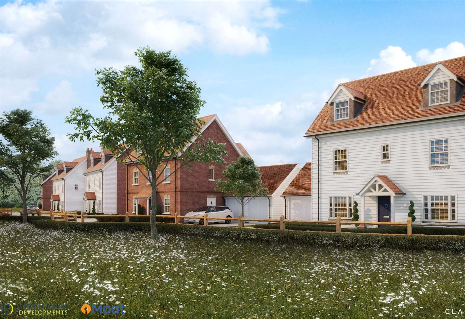 New images of village development unveiled