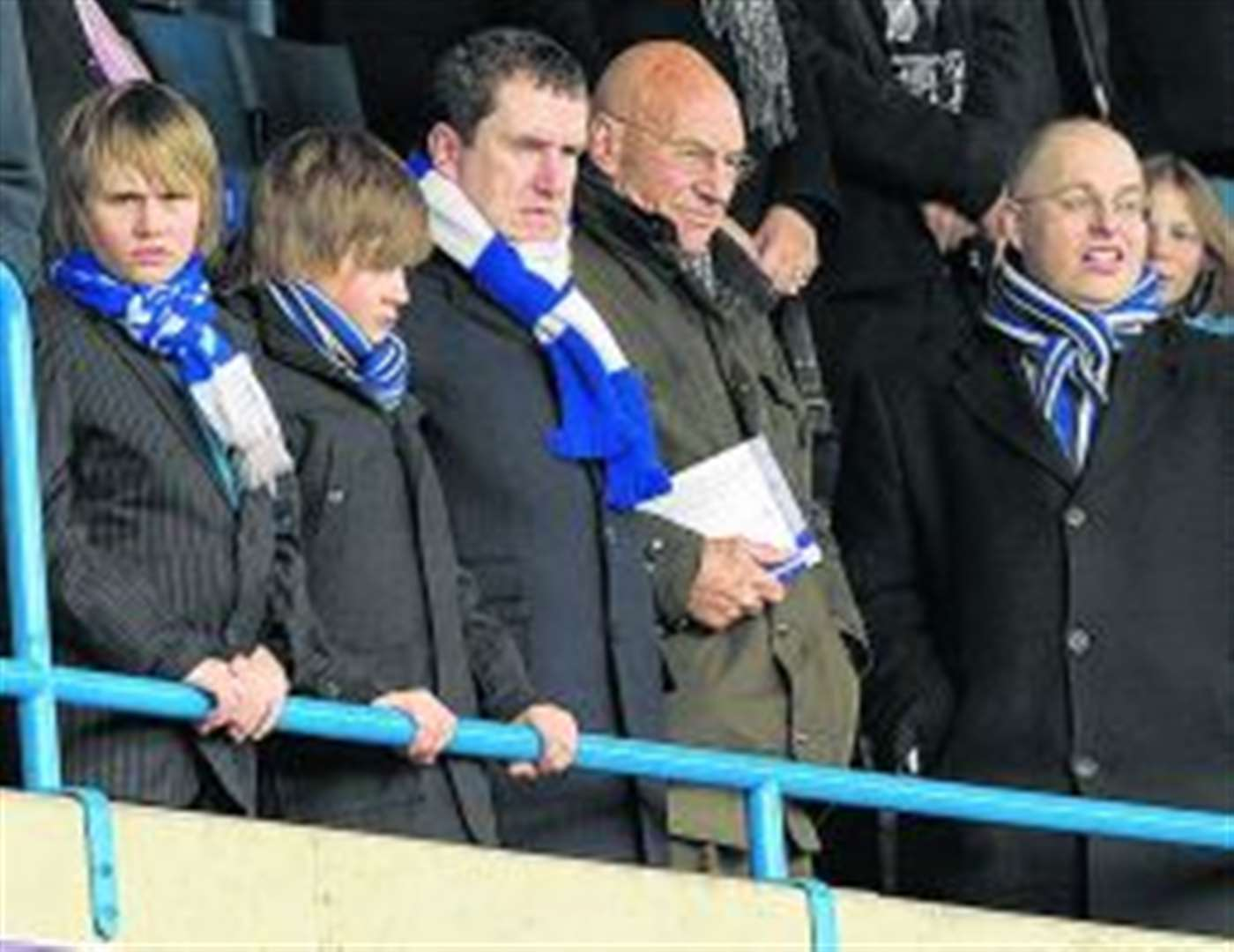 Top actor at Gills game