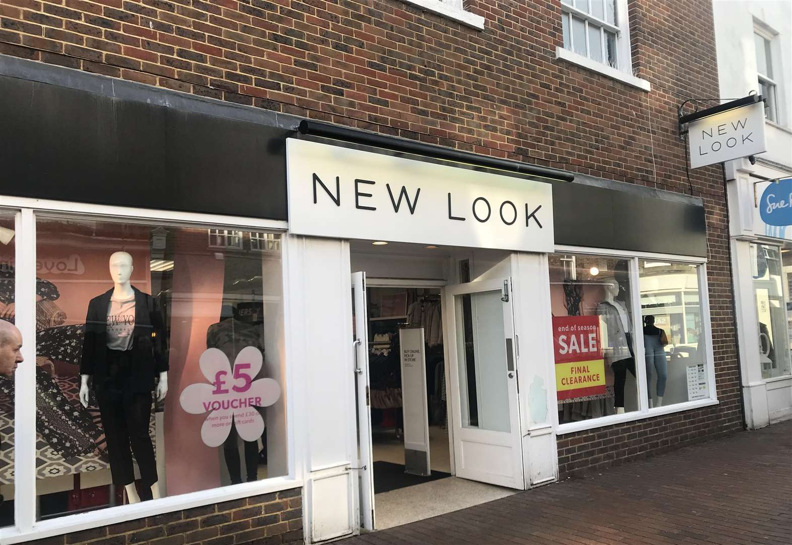 New Look store to close