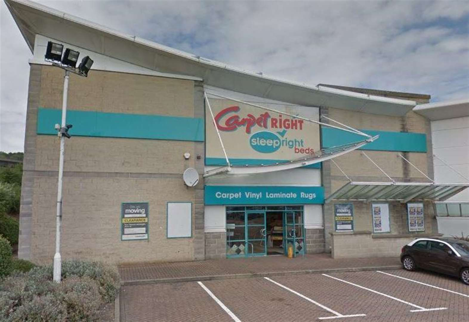 Ex carpet shop to become gym