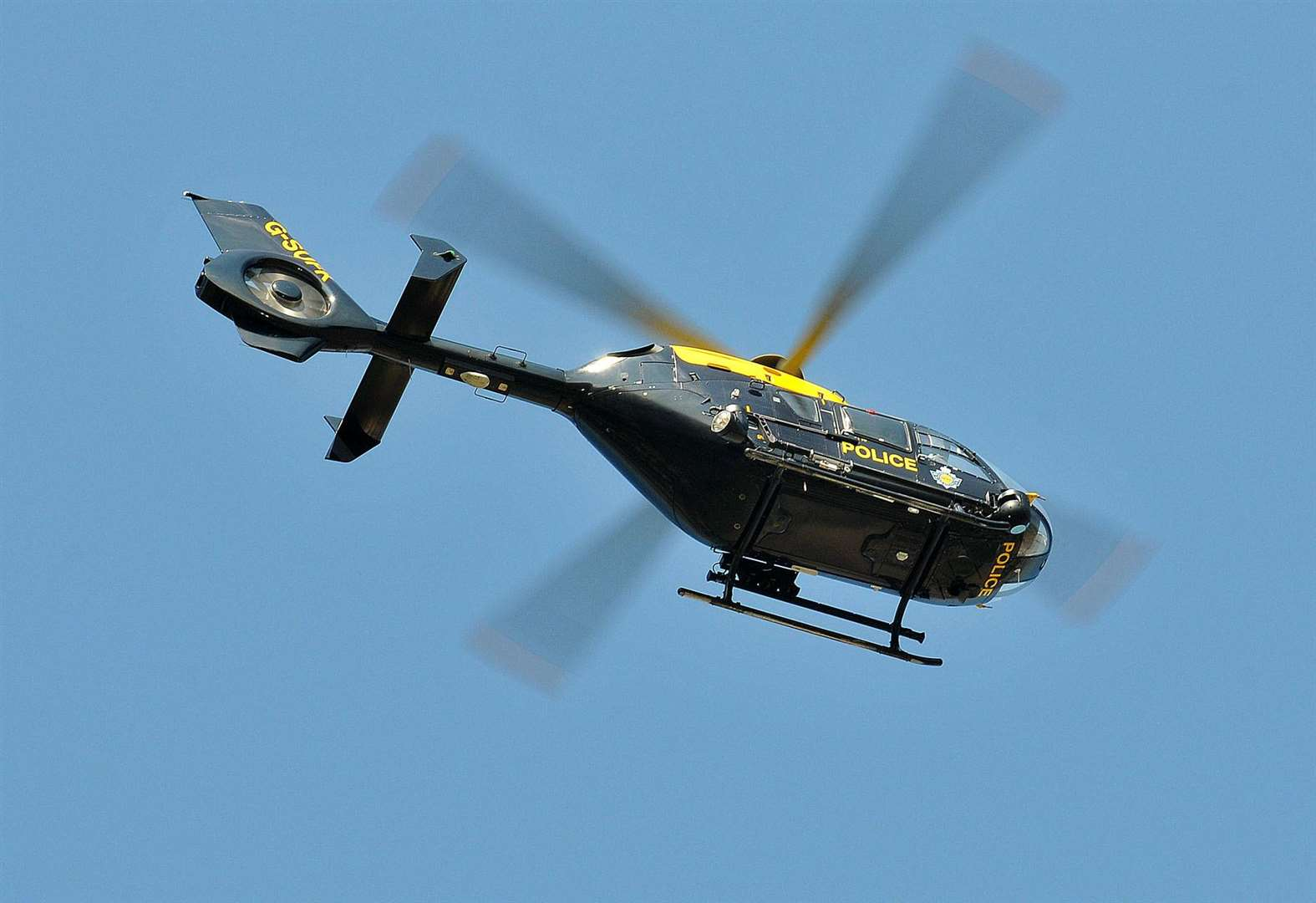 Helicopter searches for missing girl, 4