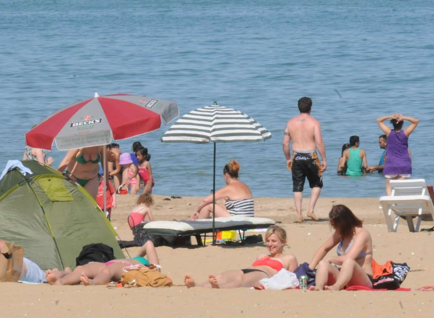 Summer's back! Kent set to swelter in 29c heat