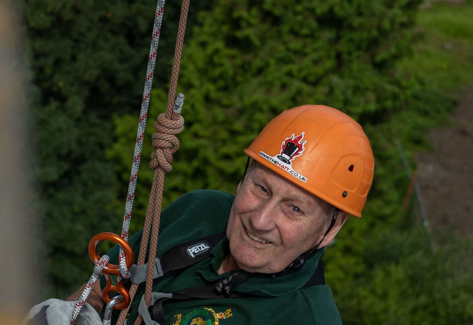 Abseil aims to smash £12,000 benchmark