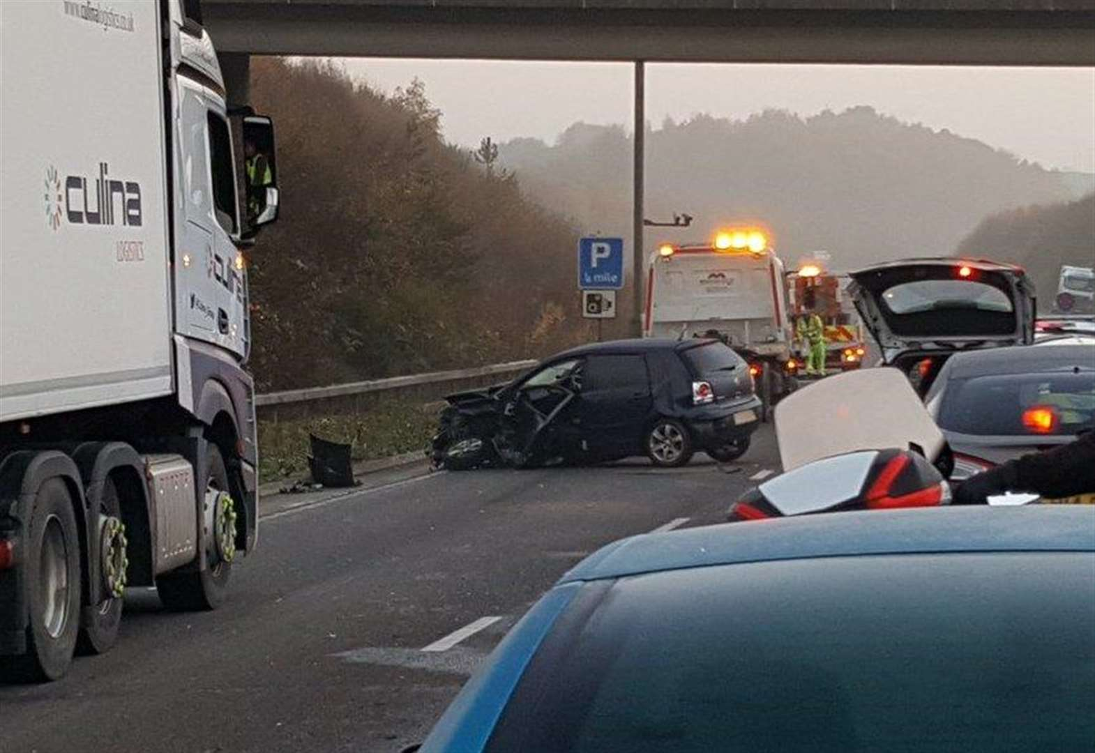 A249 reopens after accident