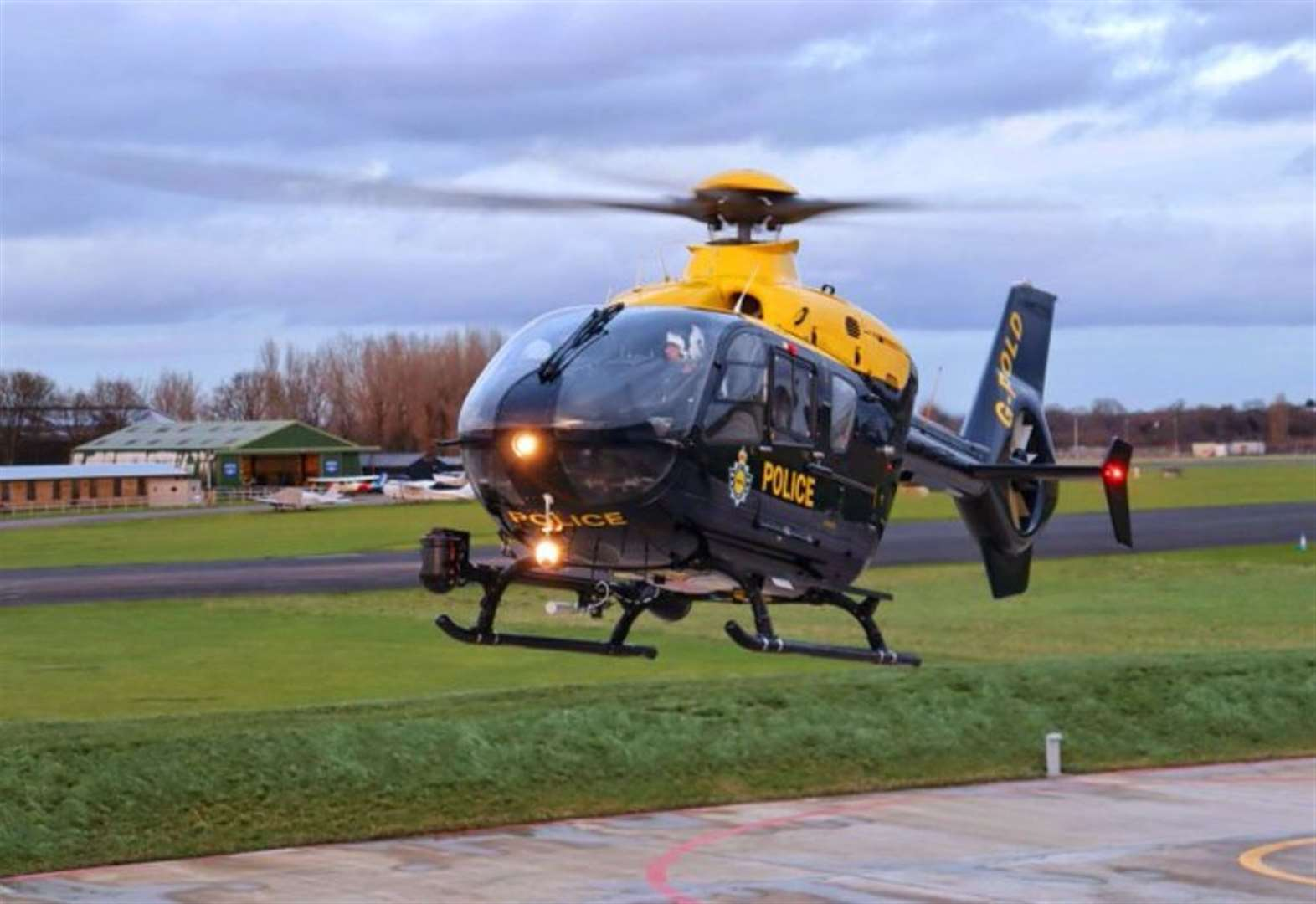 Chopper launched after police-chase crash
