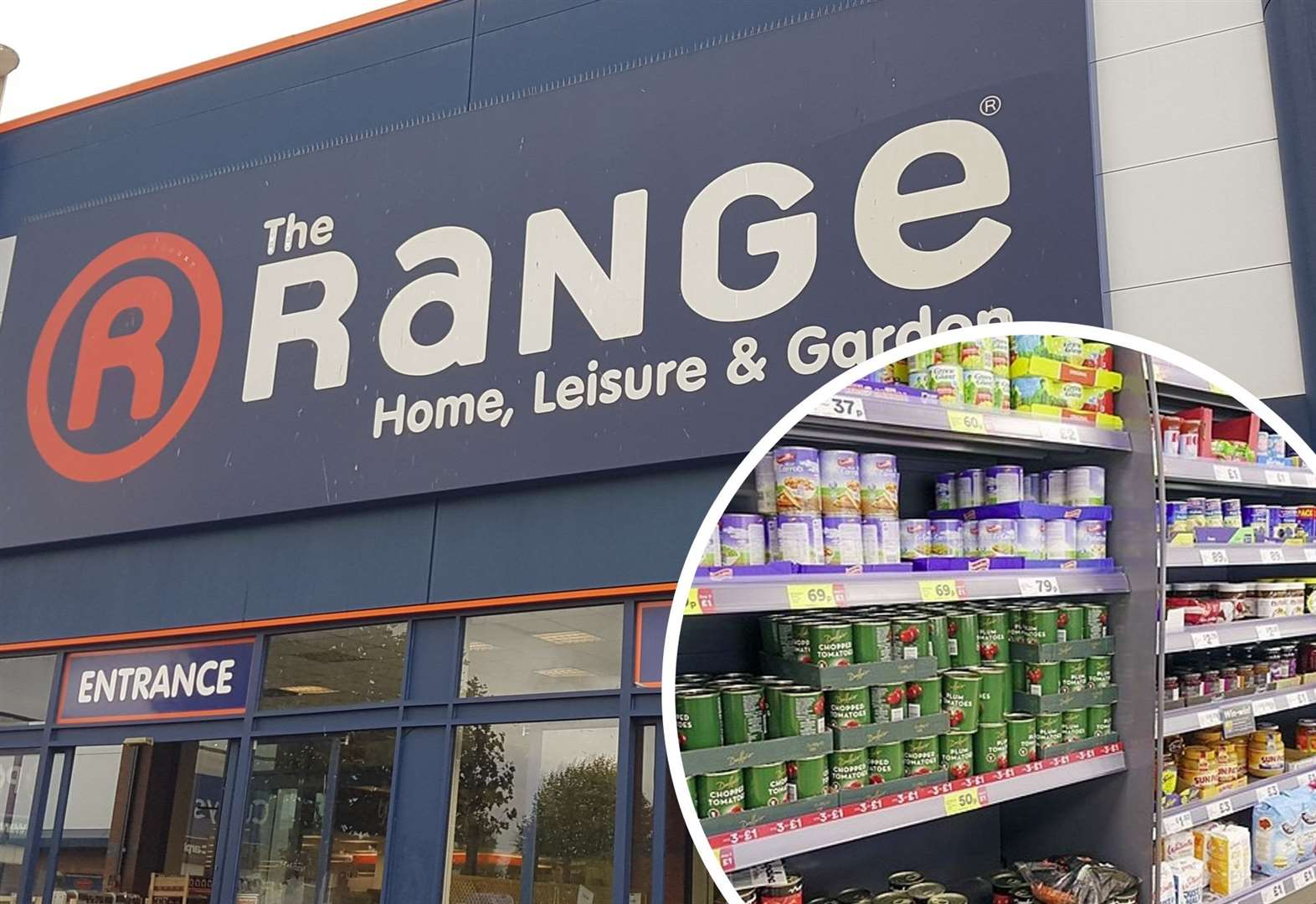 Iceland food set to be sold at The Range