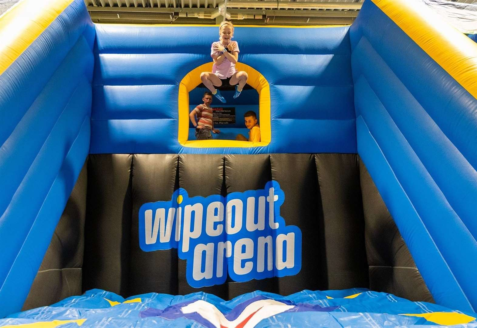 Take on the Total Wipeout style challenge