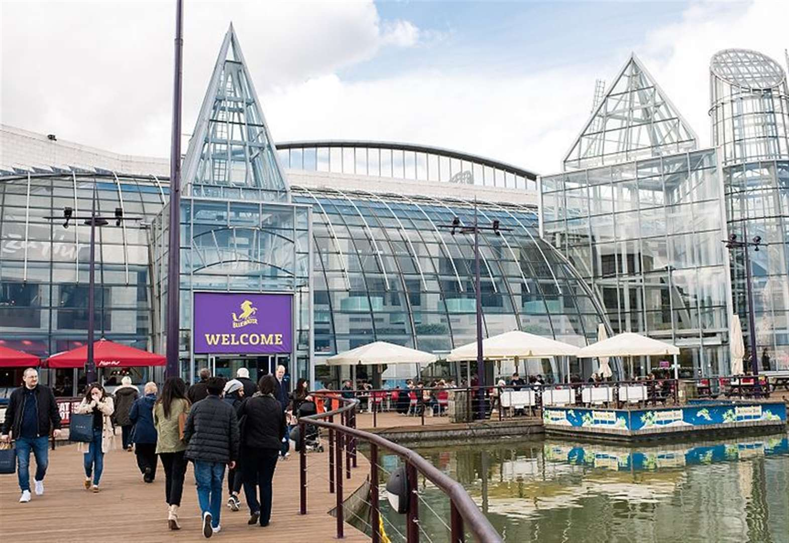 Two teens arrested after Bluewater mugging