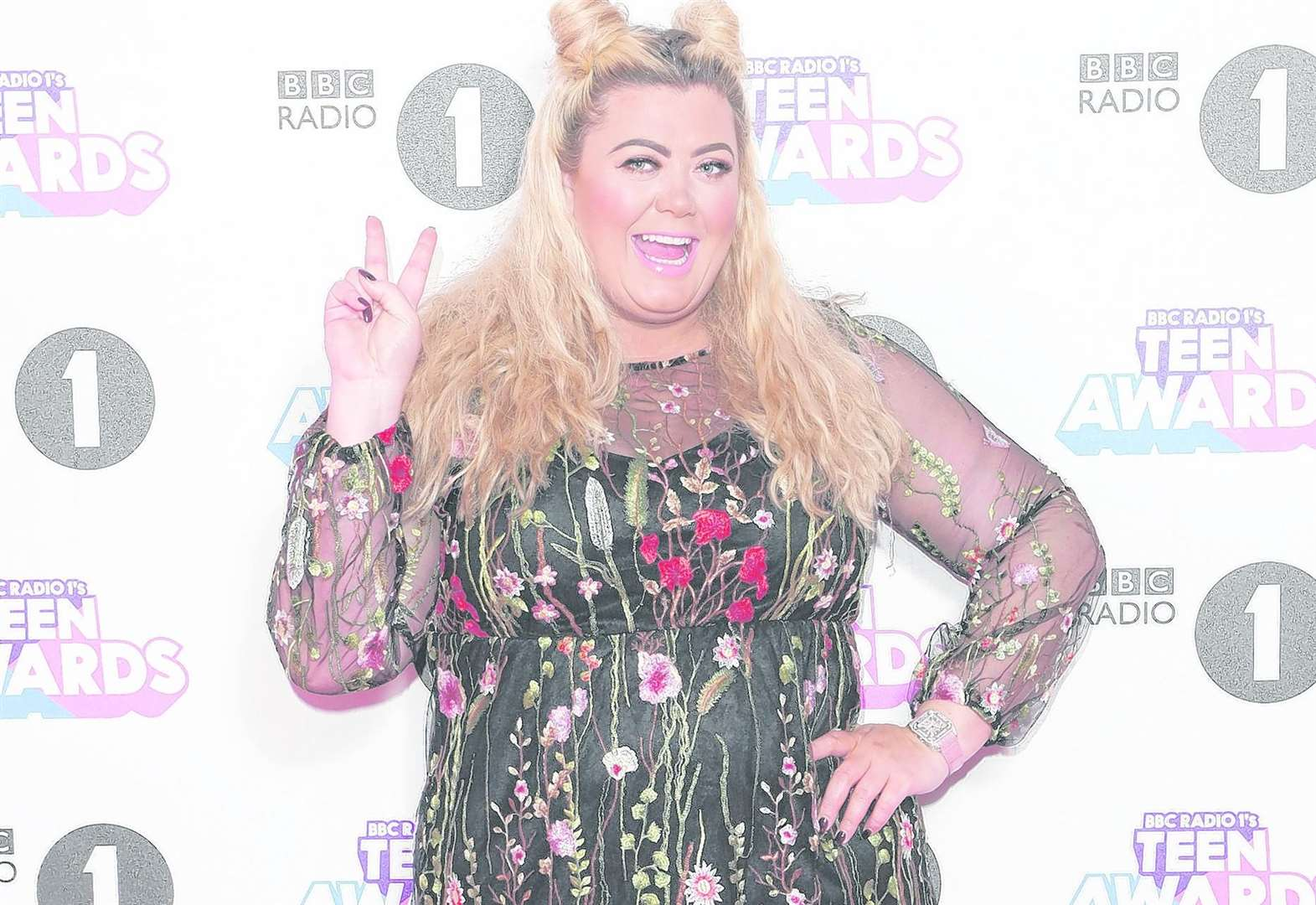 Lifesize cut-out of Gemma Collins among bizarre items lost in hotels