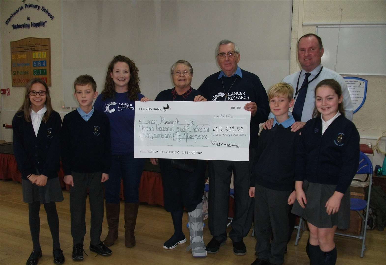 Pupils raise £13,000 for charity