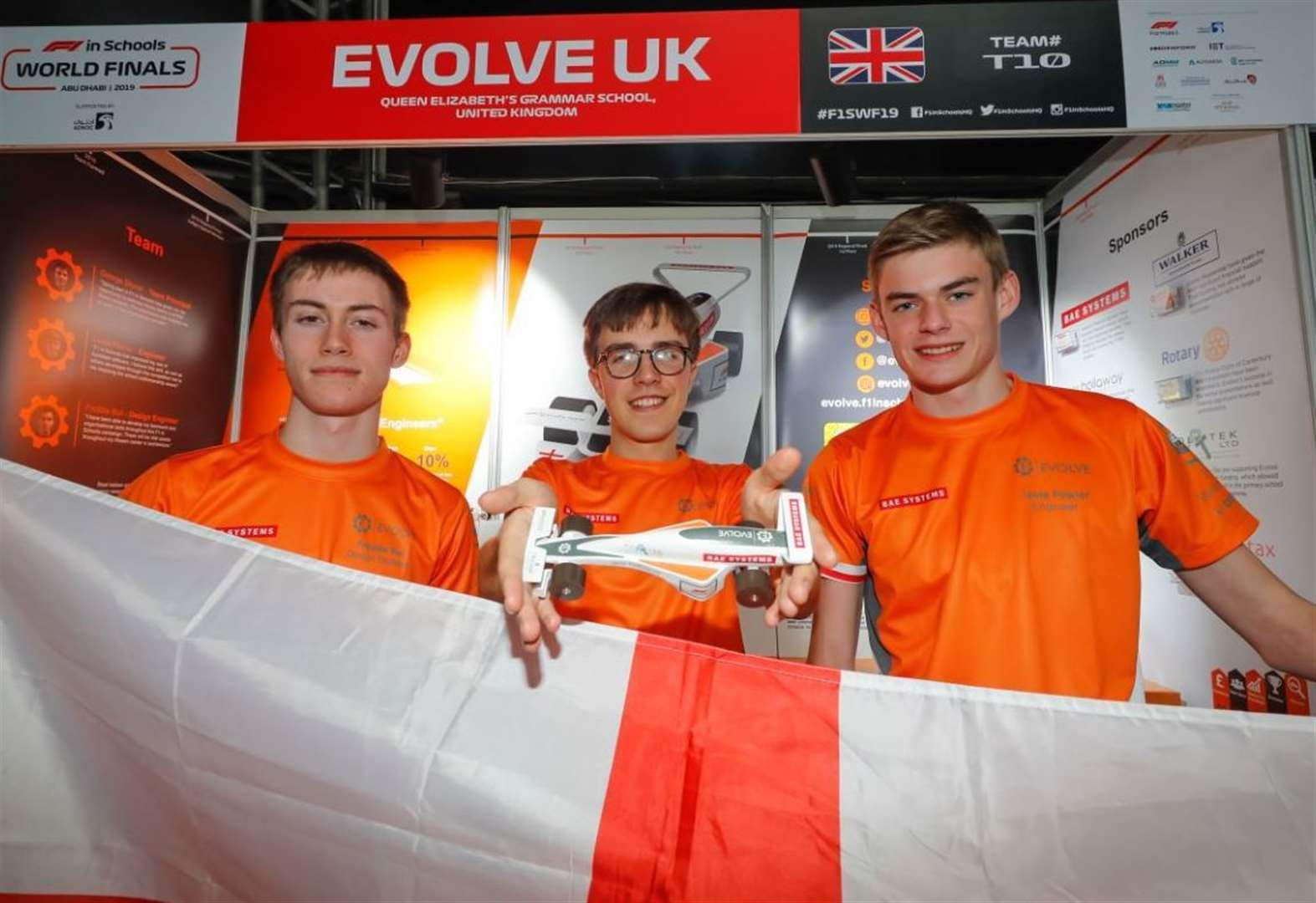 Pupils in pole position after F1 world triumph