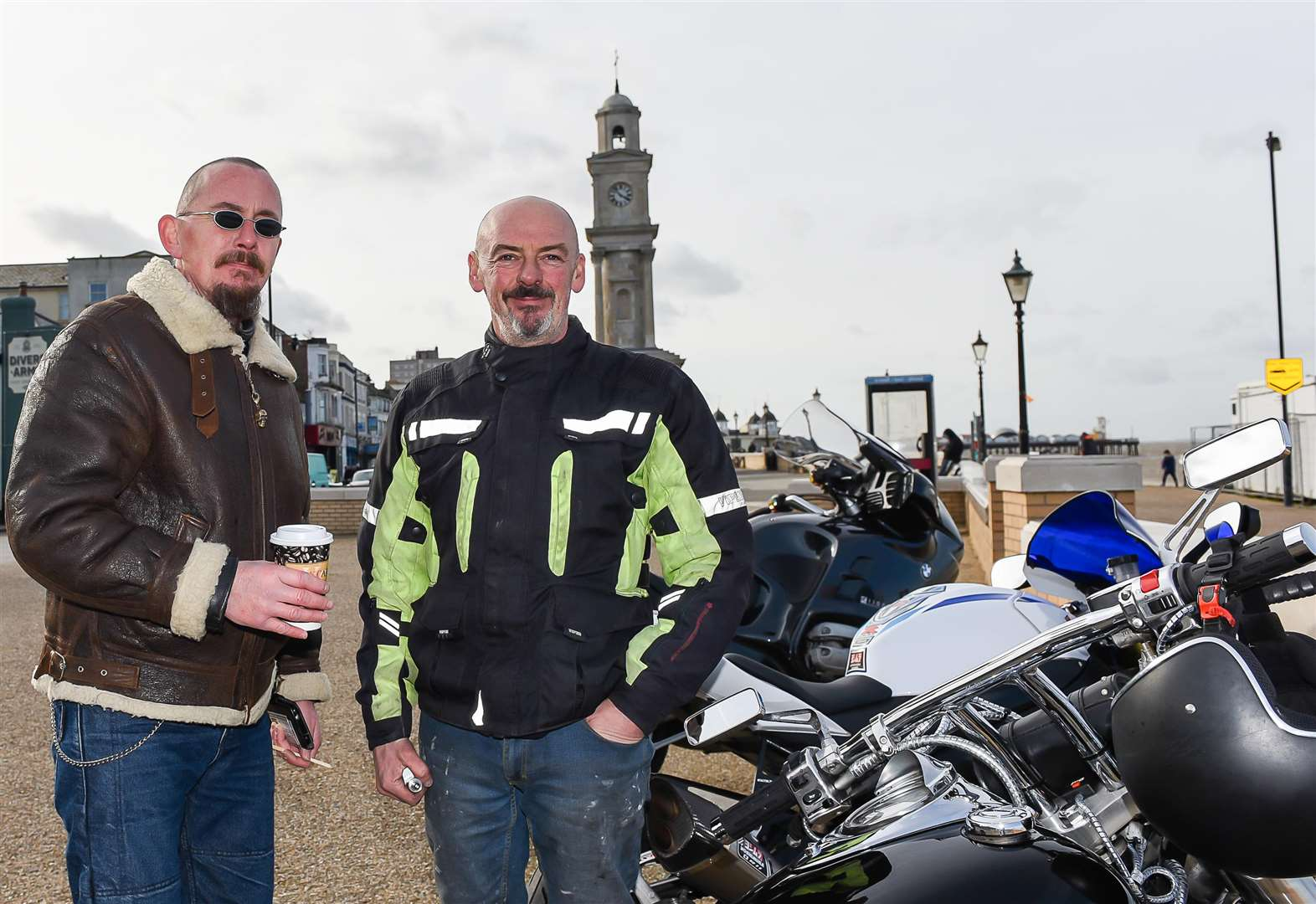 Bikers threaten protest over pavement parking ban