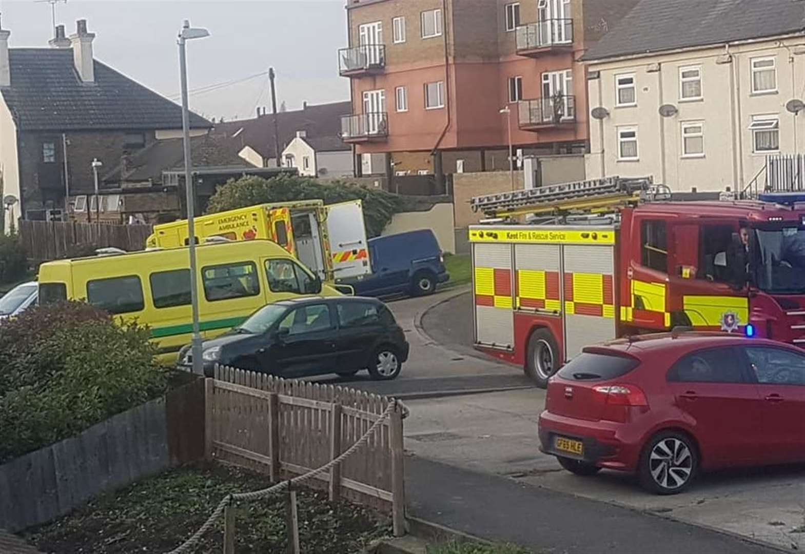 Air ambulance sent to incident near railway station