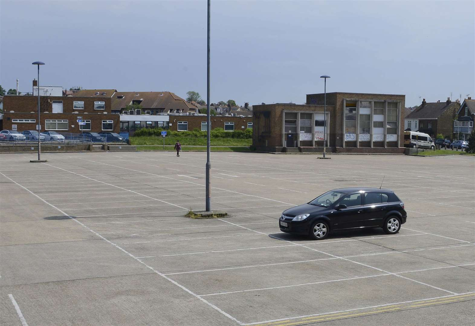 Major car park partially re-opens