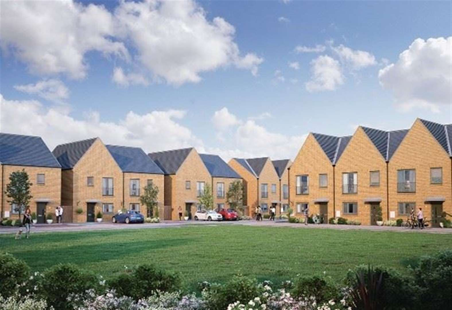 Plans for 233 new homes at ex-quarry
