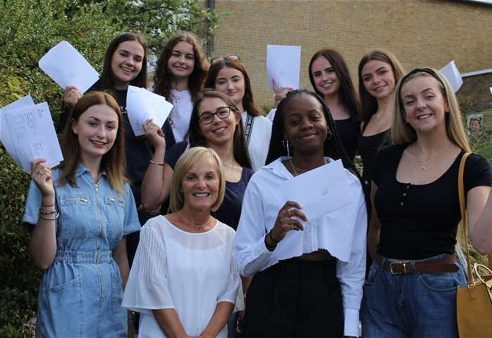 Thousands of Kent students find out their A Level results