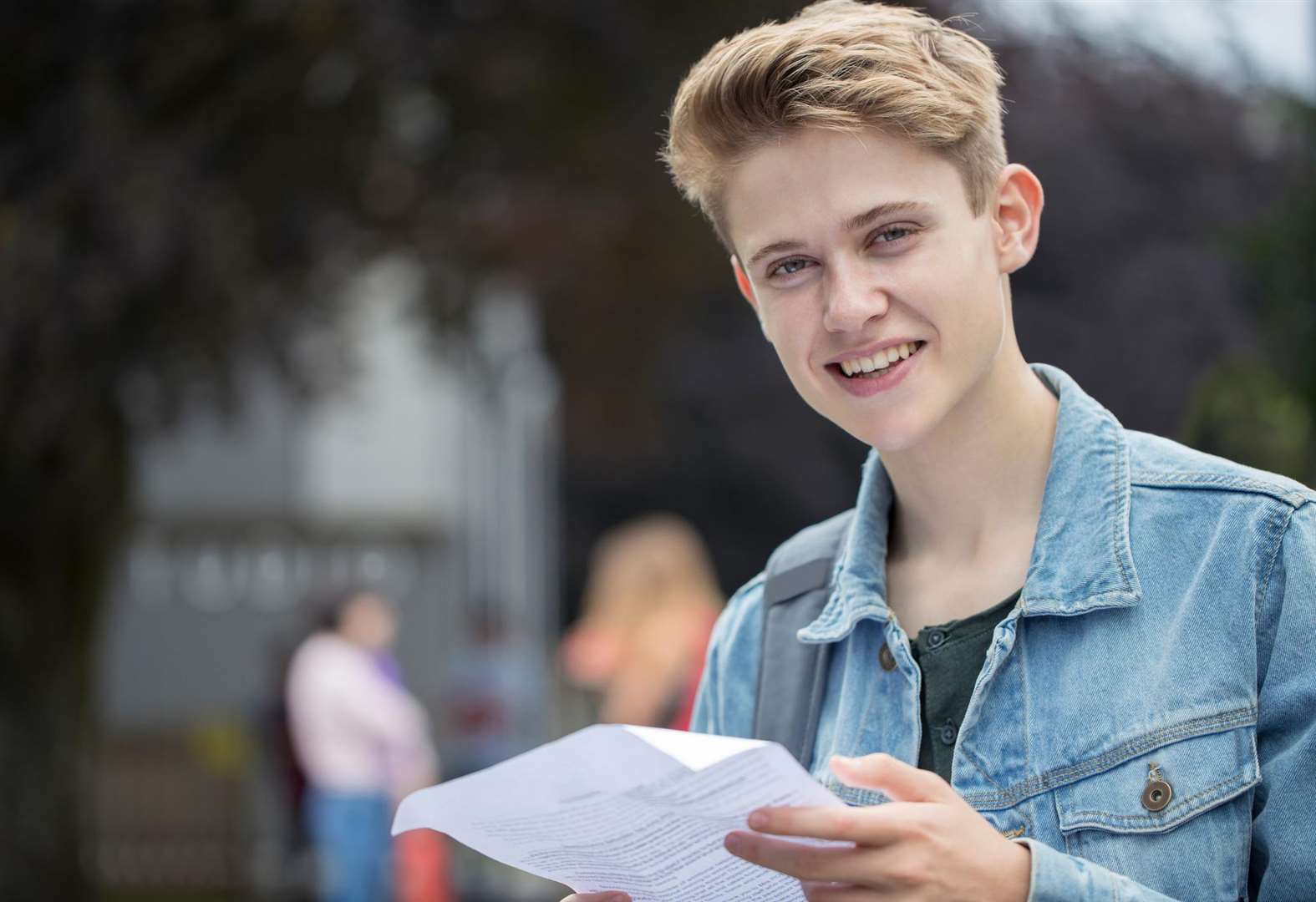 Thousands await A level results