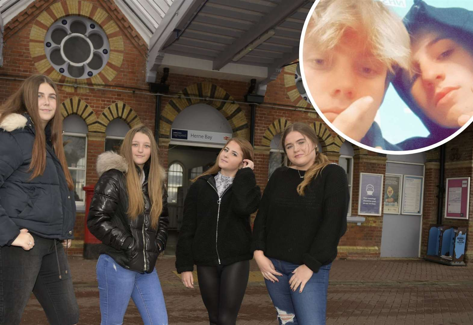 Teens win award for stopping man jumping in front of train