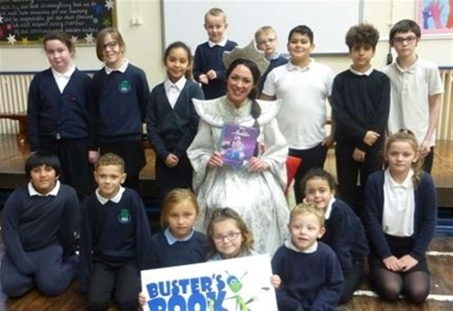 Panto treat for young readers