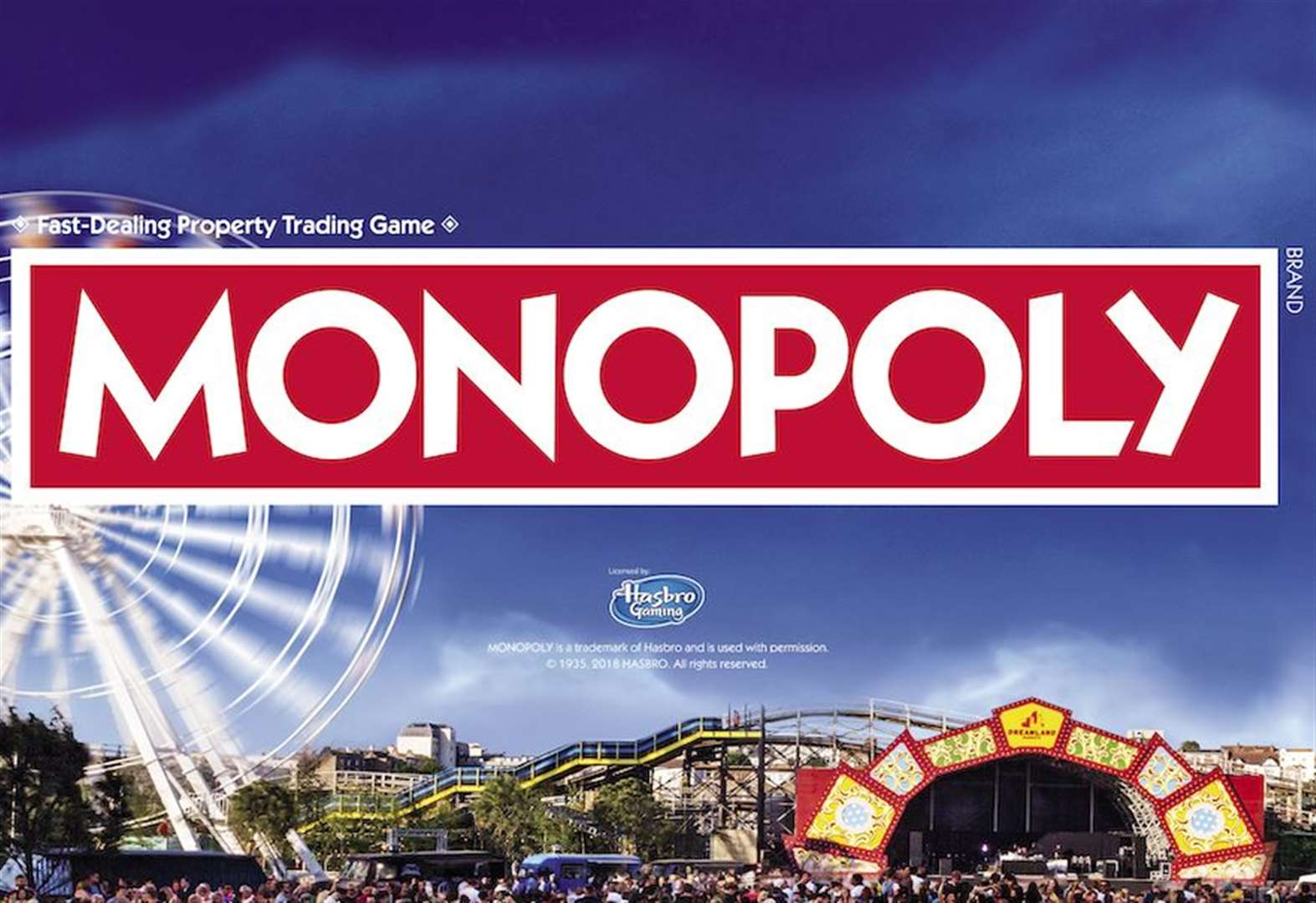 Monopoly mania day in Margate