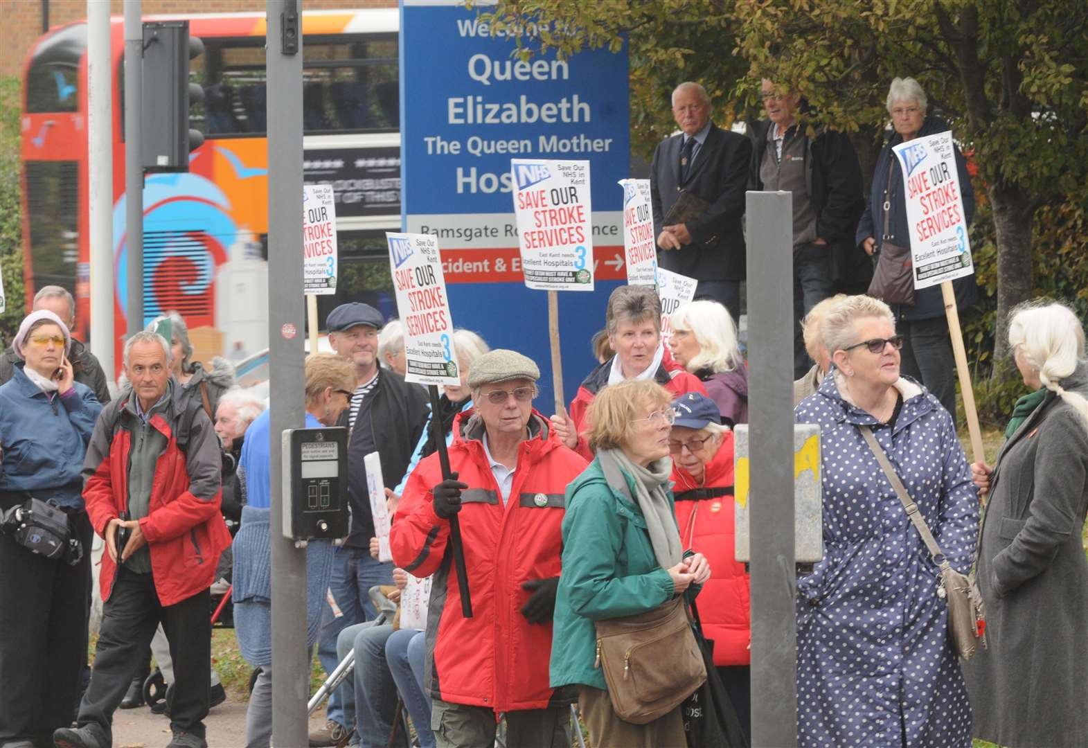 Battle over stroke unit closure gears up