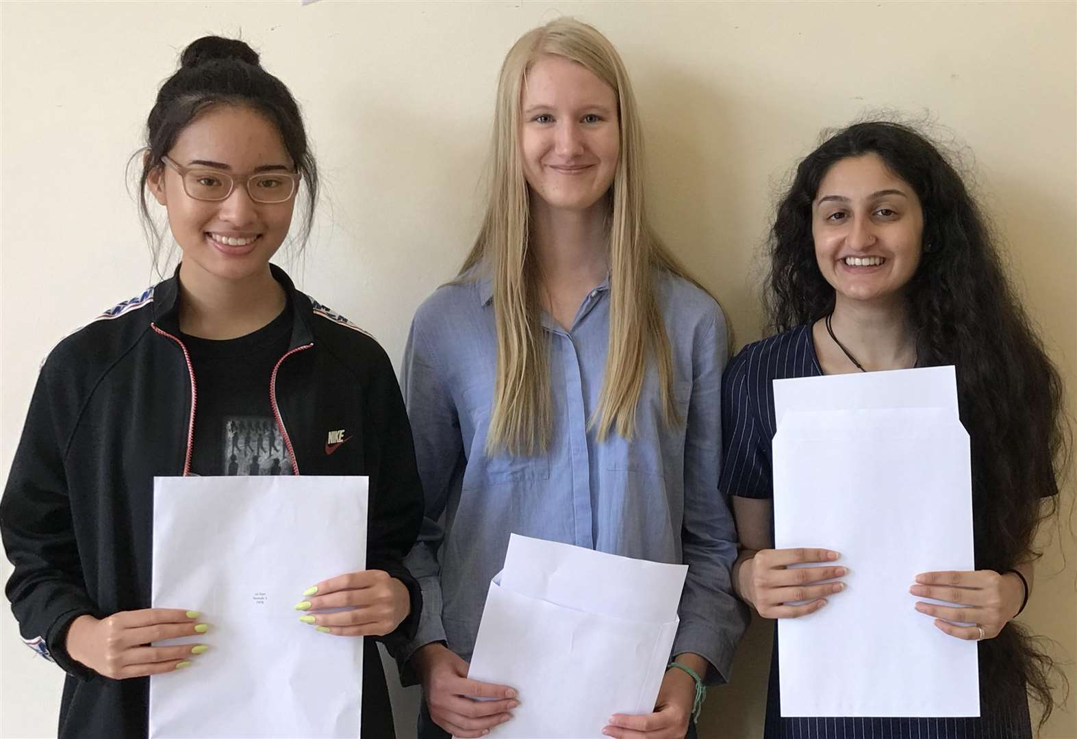 The results are in! A-level students pick up grades
