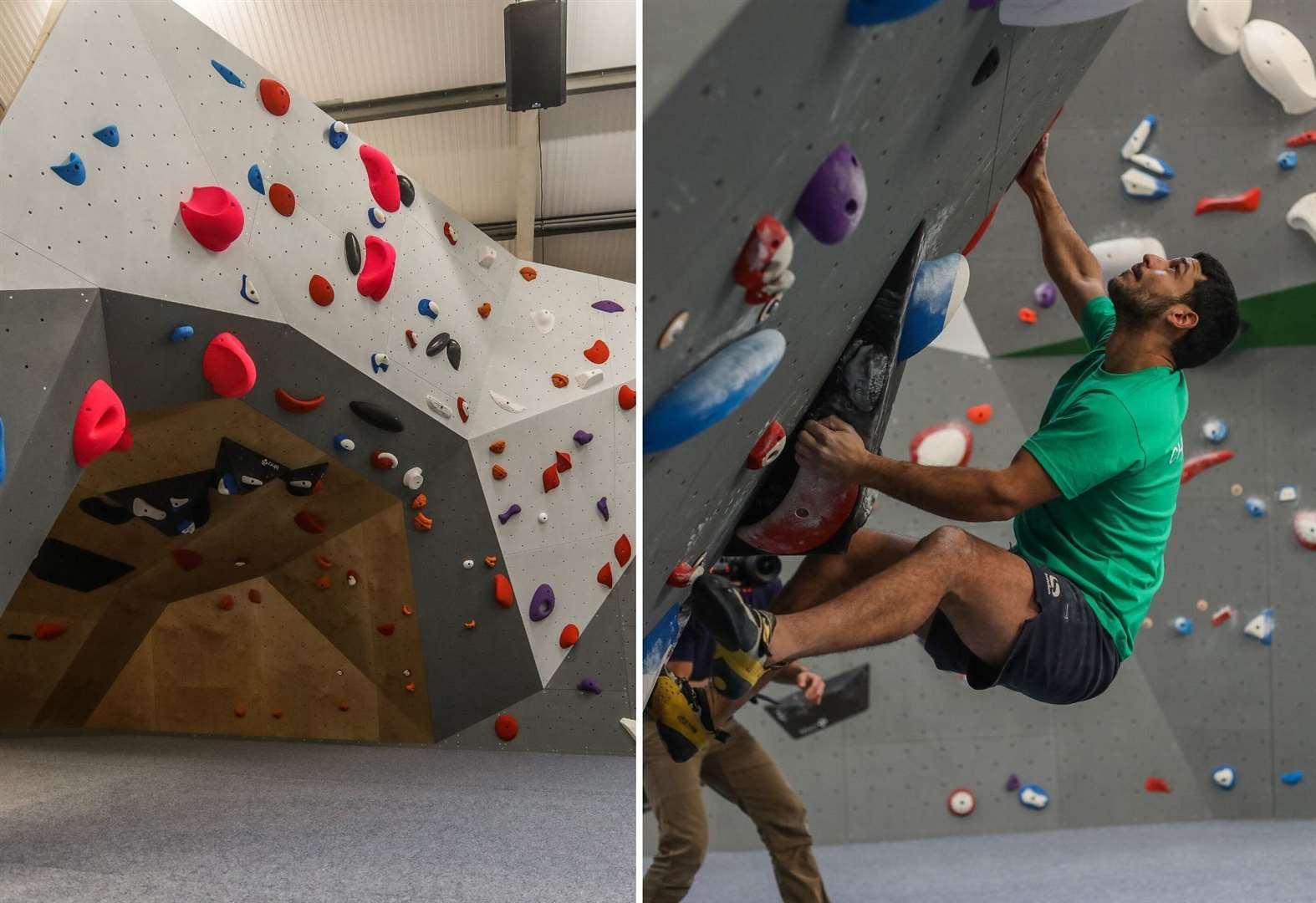 New indoor climbing centre opens