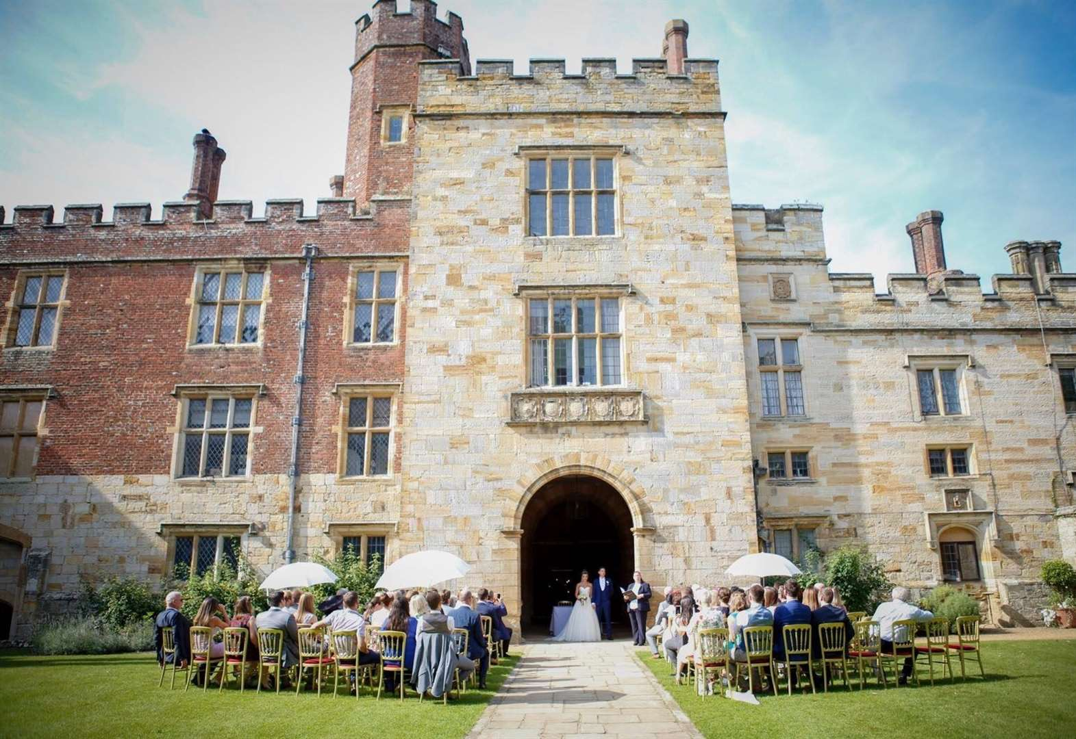 A stately home reopening fit for a king