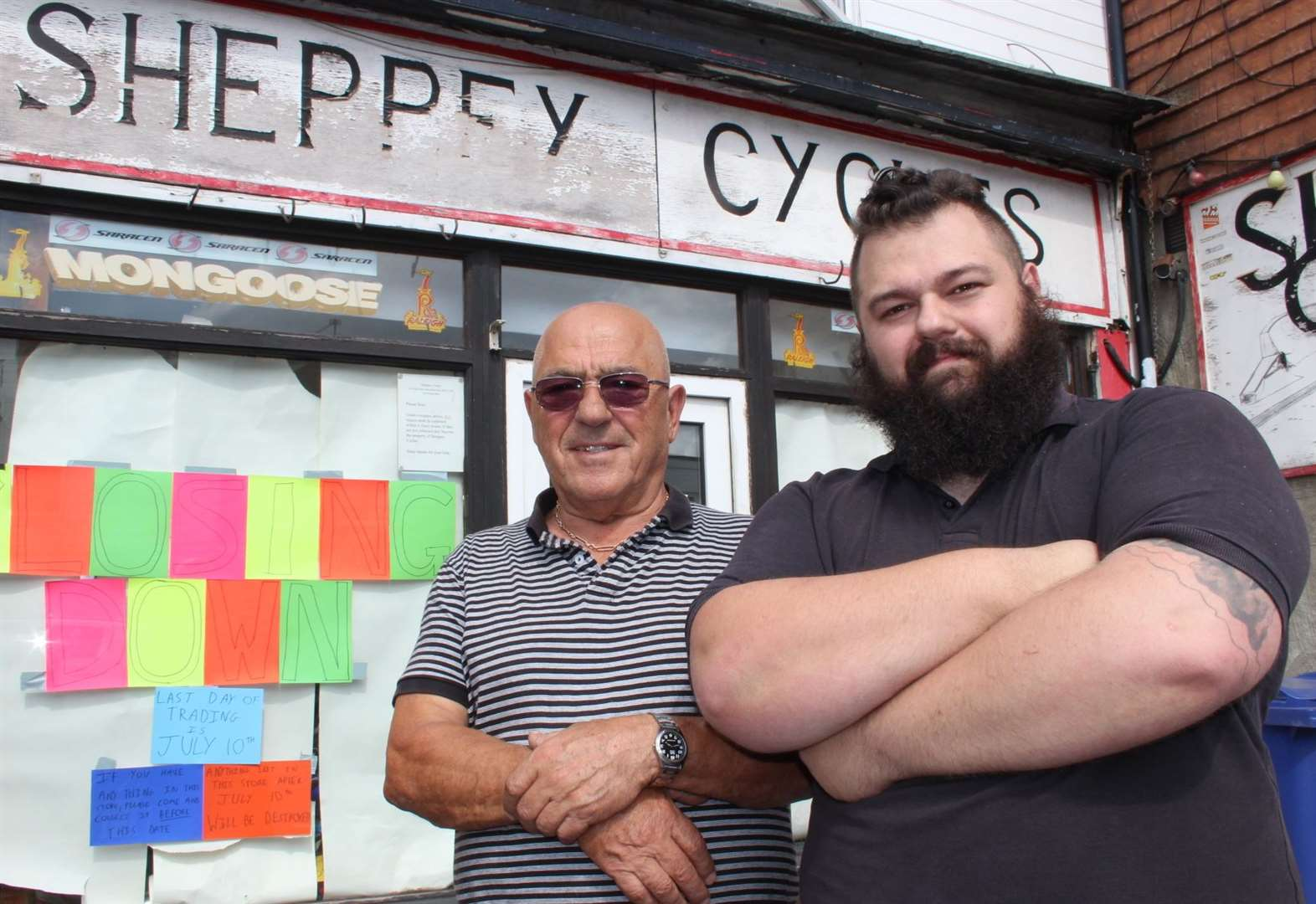 End of the road for bike shop