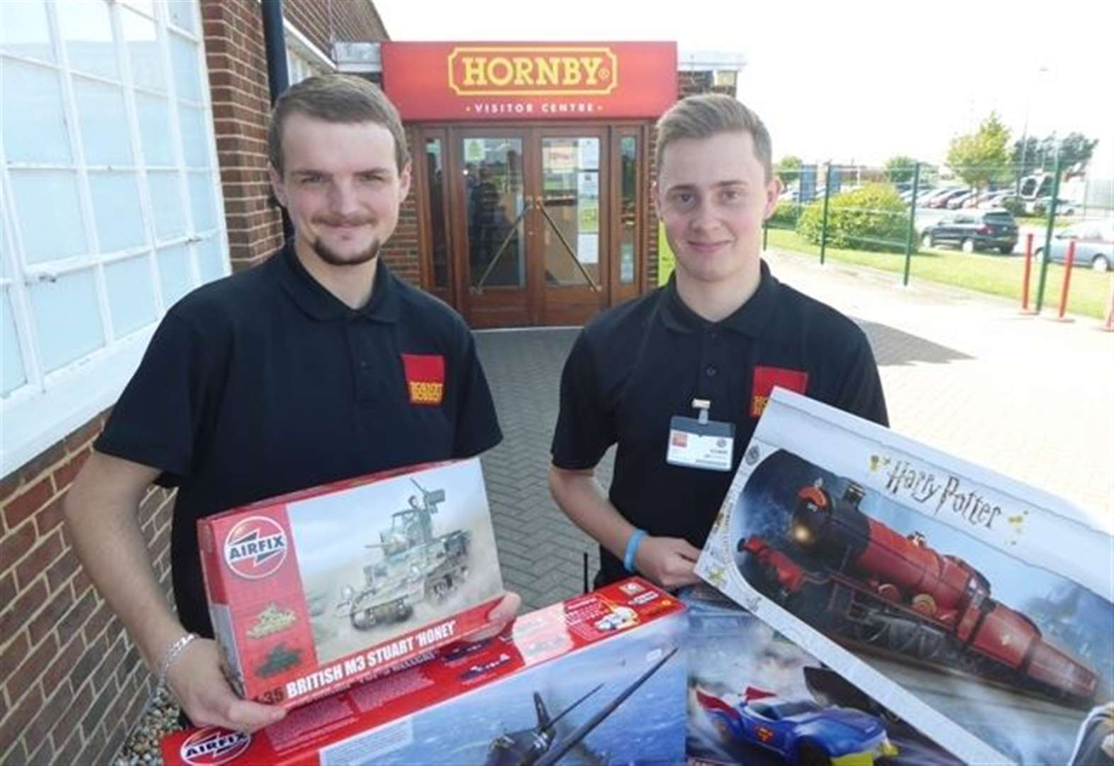 Hornby delivers early Christmas at Big Quiz