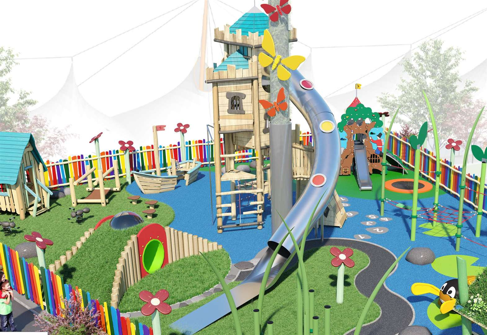New children's play area set to open
