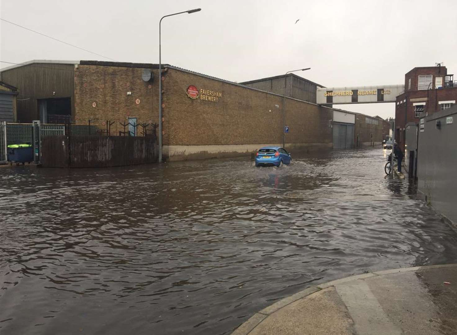 Power cuts and flooding as storm hits