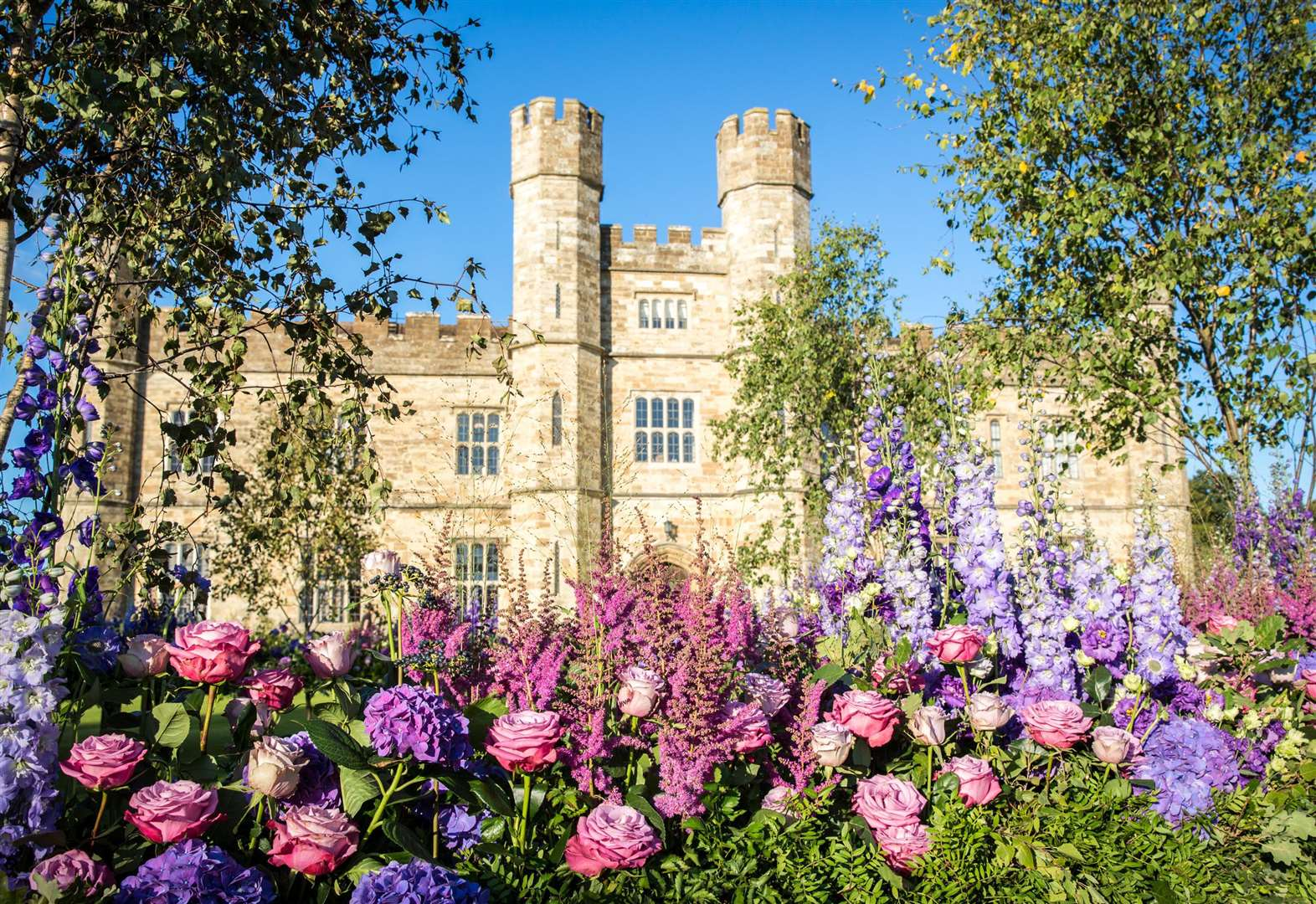 Leeds Castle's Festival of Flowers comes in to bloom
