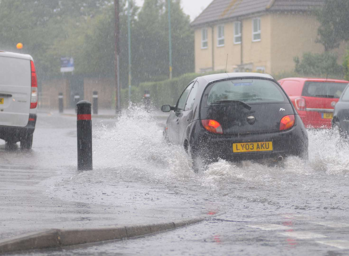 Flood warnings issued for several areas