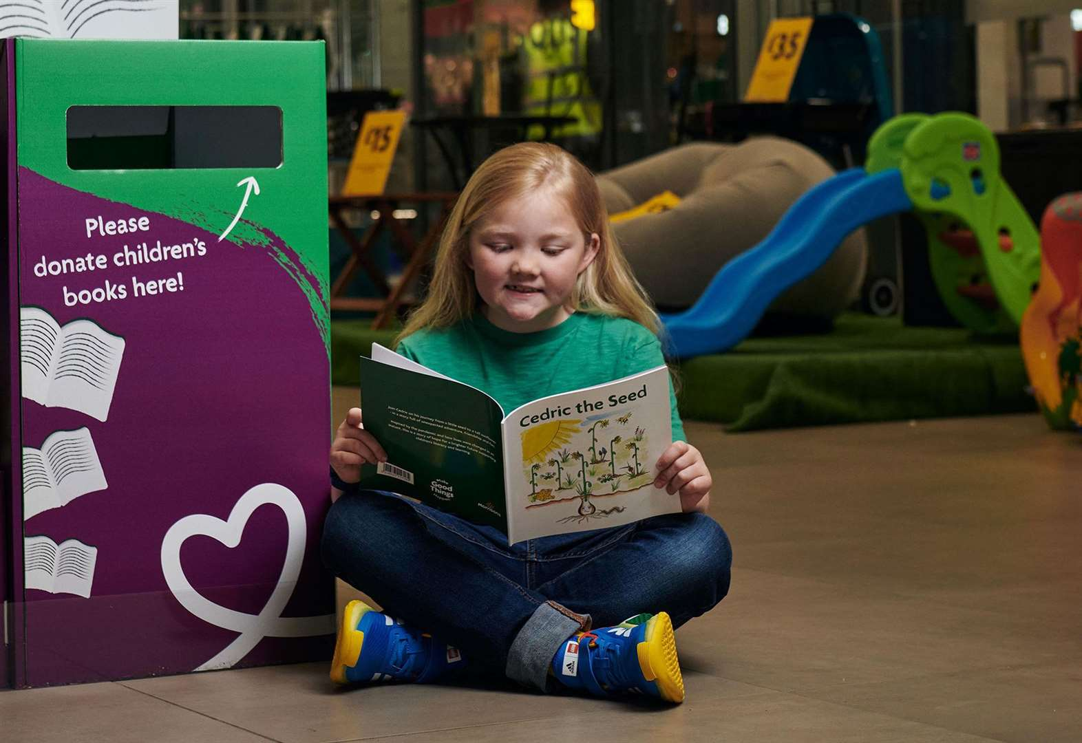 Supermarket launches free children's book scheme
