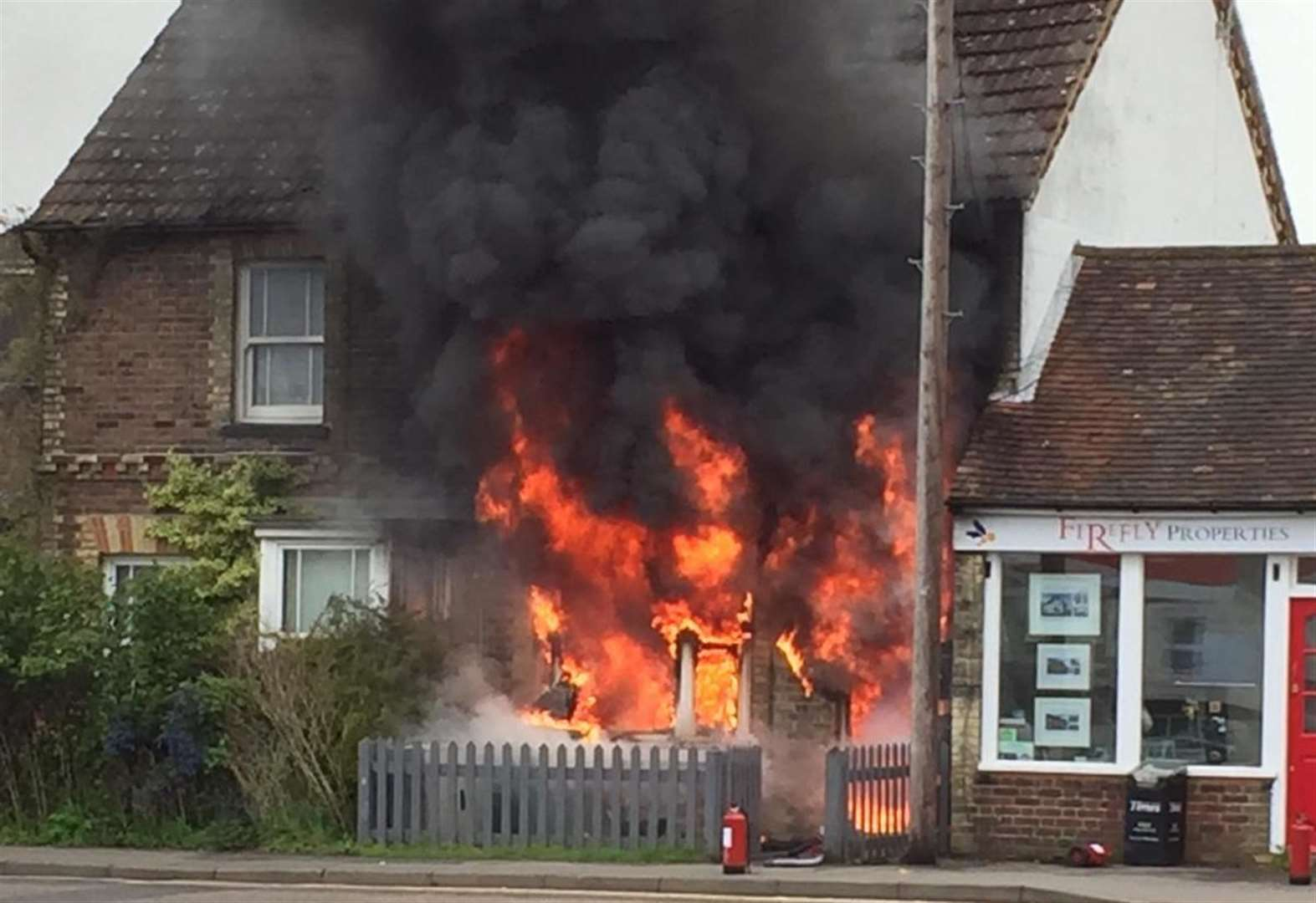 Hundreds raised after house fire