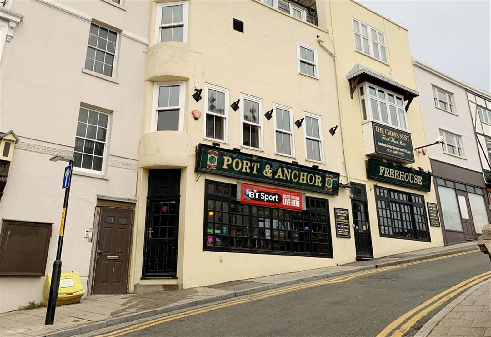 Pub with sea views up for sale