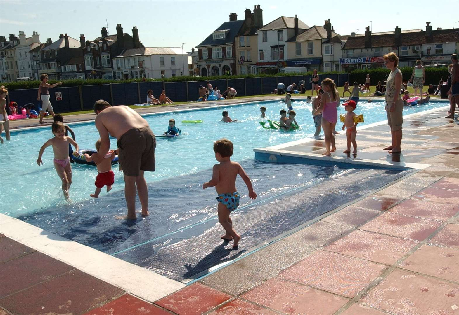 Free paddling pool could start charging