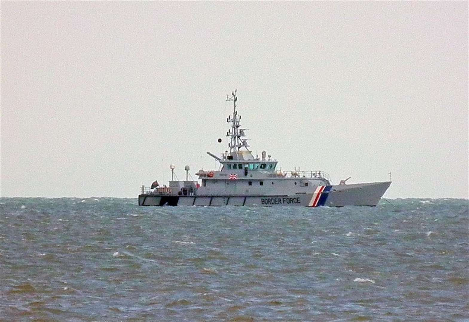 Border forces called out to 'boat incident'